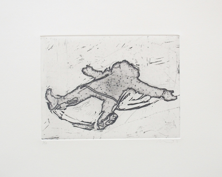 Wafer-Snow Angel 2011-Open Bite and Handground Etching-LR