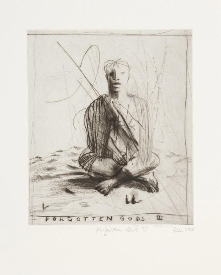 Bell - Forgotten Gods III 2010 - Drypoint -LR