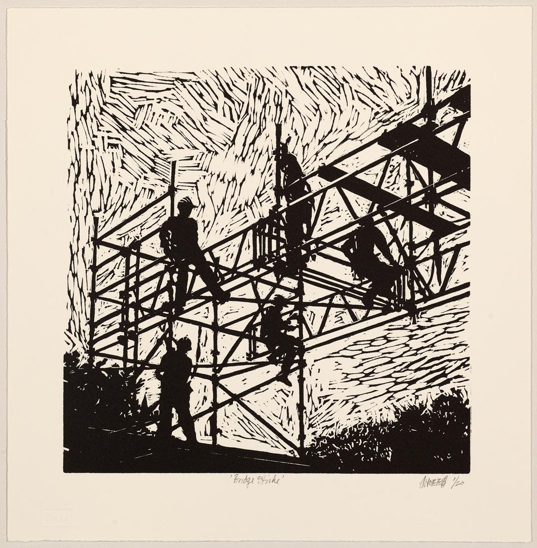 Hobbs-Bridge Strike 2012-Linocut-LR
