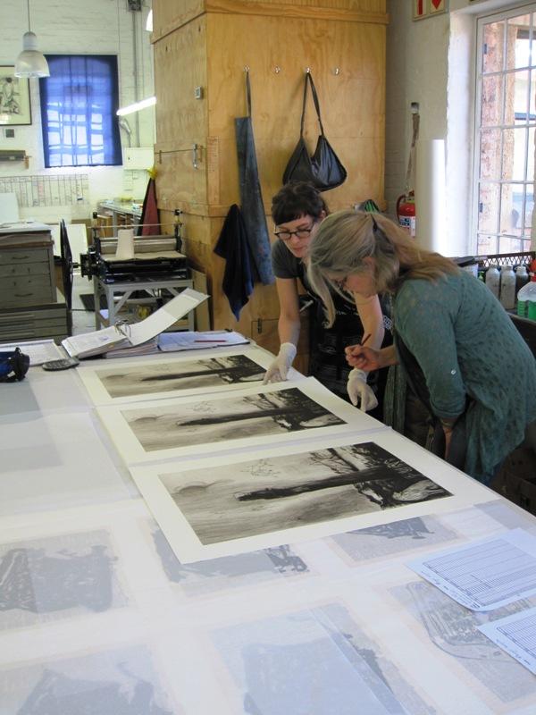 Deborah Bell at David Krut Print Workshop, Arts on Main