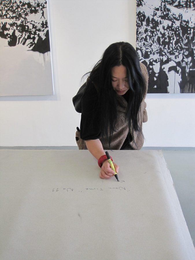 Kristin Yang signing