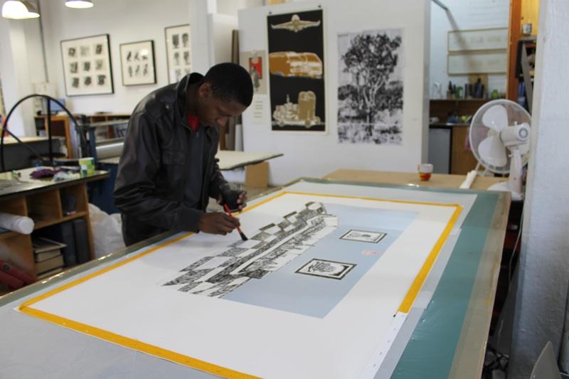 Senzo Shabangu at DKW Arts on Main
