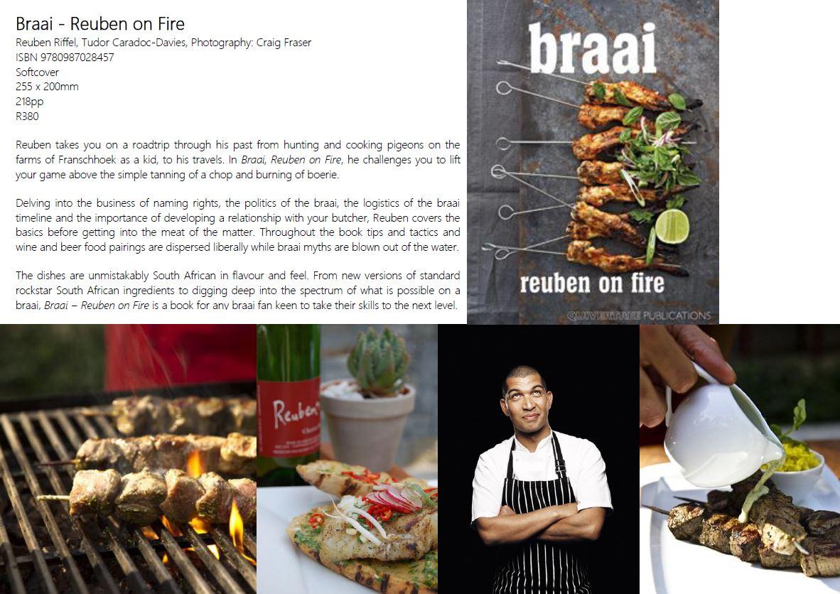 braai - ruben on fire