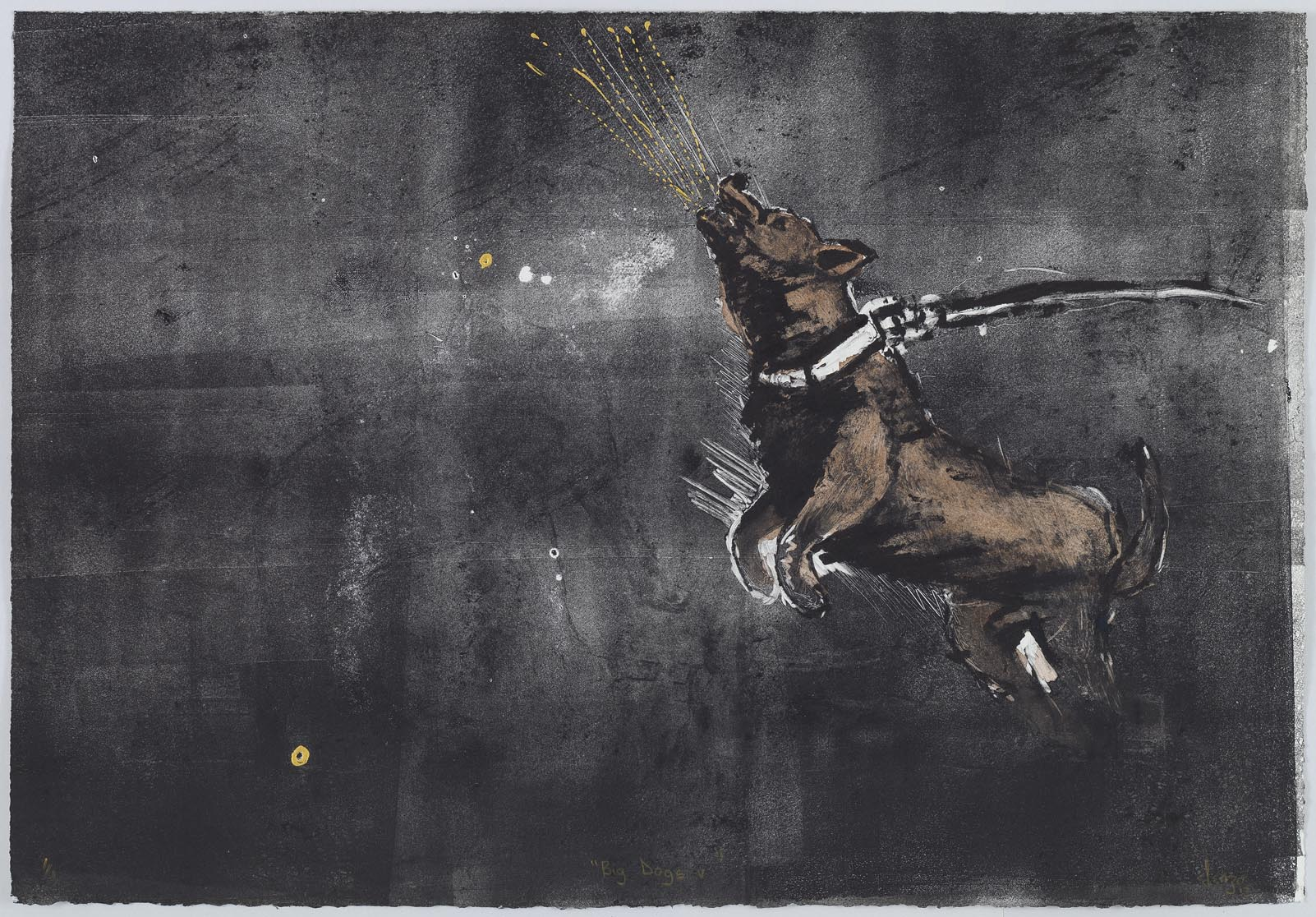 Shabangu - Big Dogs V 2014 - Monotype - LR