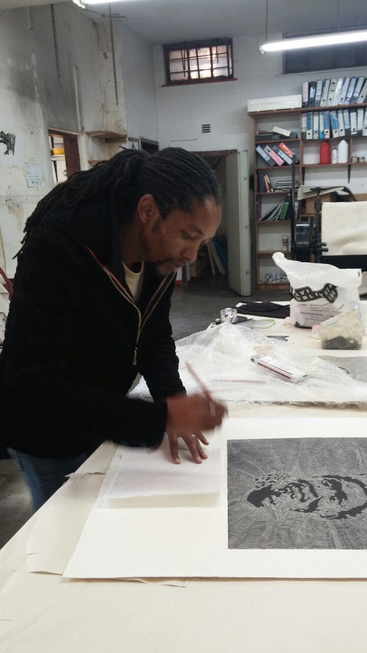 Kabelo Kim Modise signing new work