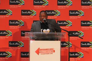 Honourable MEC for Finance, Economic Development and Tourism Northern Cape, MEC John Block