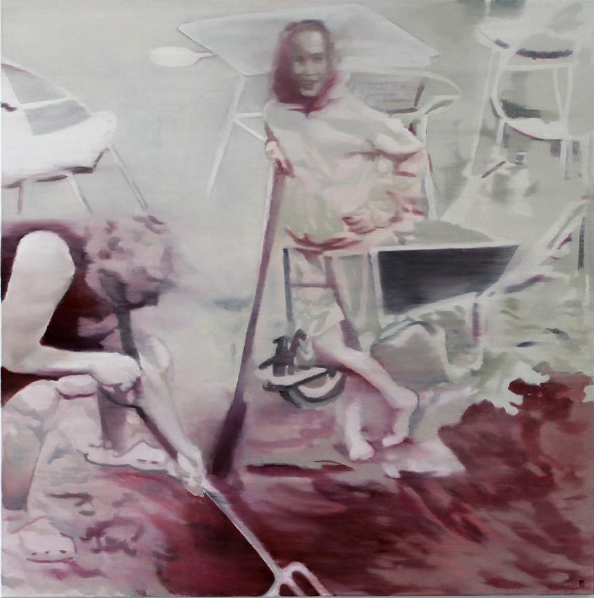 Vaderlandswilg, 2014, Robyn Penn – Oil on canvas