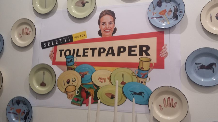 Toilet Paper Seletti : Unique dishes the craziest pieces from seletti wears
