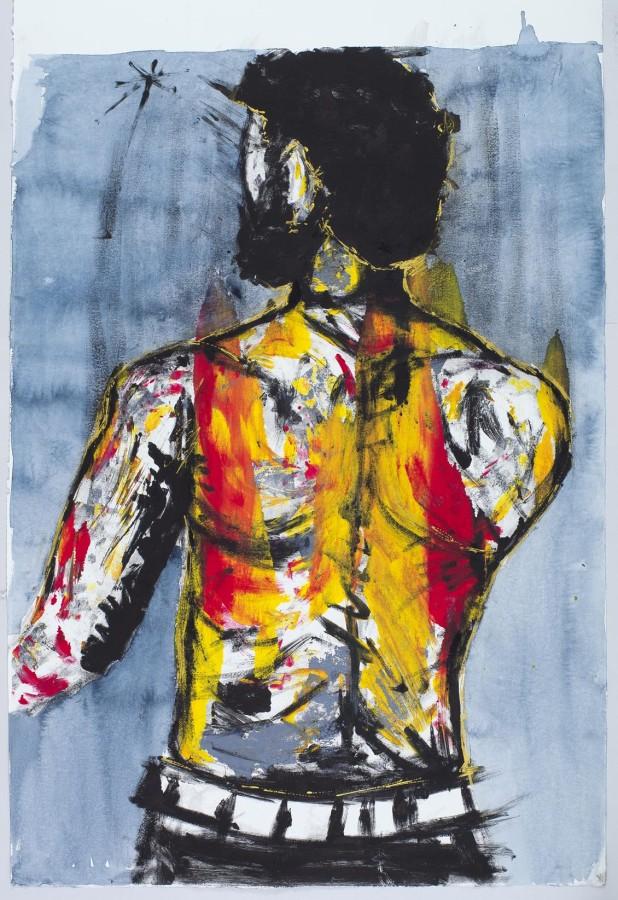Matured, 2014 - Senzo Shabangu - Monotype