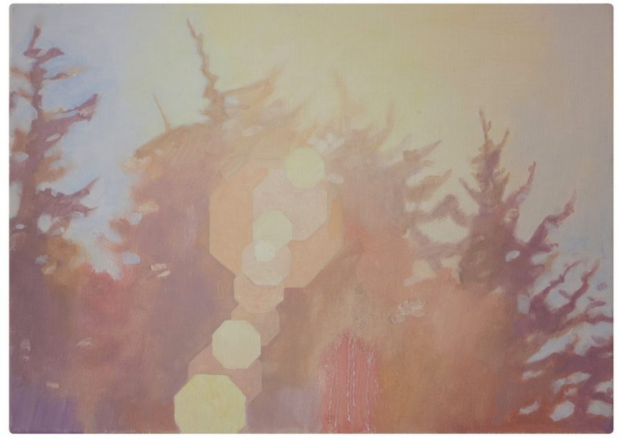 Nine Flare Paintings with Octagonal Aperture, 1 LR