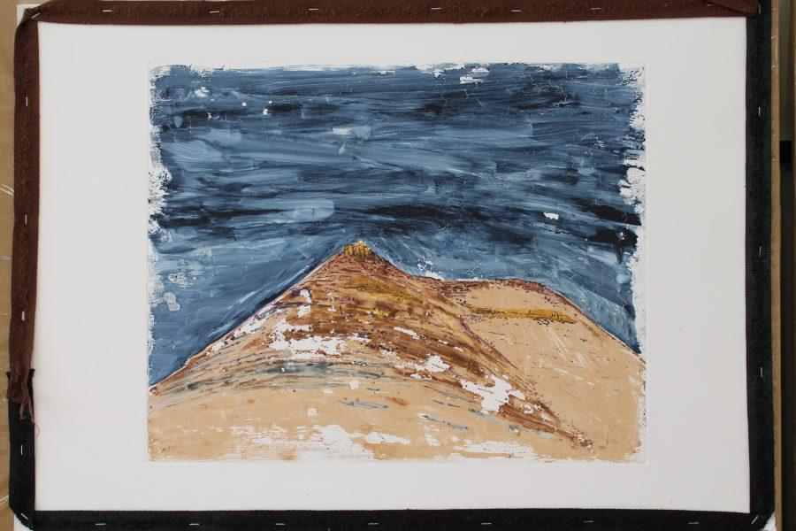 Nieu Bethesda (C2J1507), 2015 40 x 60 cm Watercolor monotype