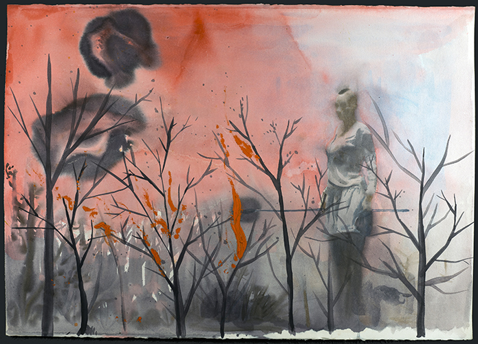 Her Throat was Dry and Burning, 2012
