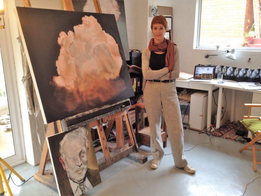 Robyn Penn in her studio.