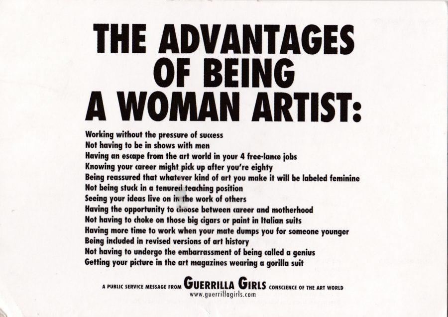 the Guerilla Girls (1)