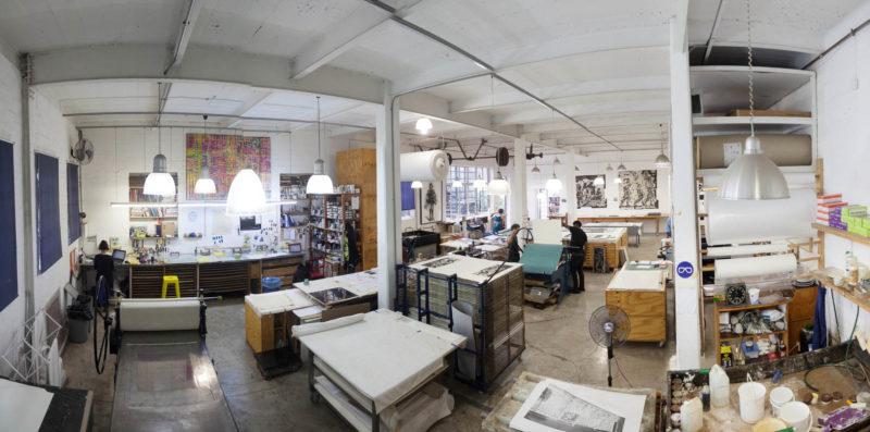 DK Print Workshop at Arts on Main, Johannesburg