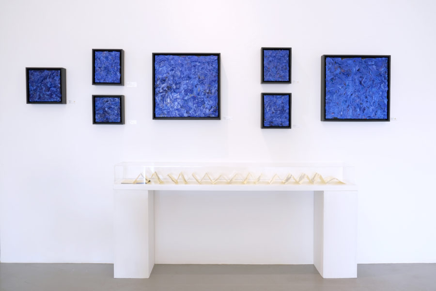 Gail Behrmann Exhibition of abstract paintings on show at David Krut Projects, Johannesburg