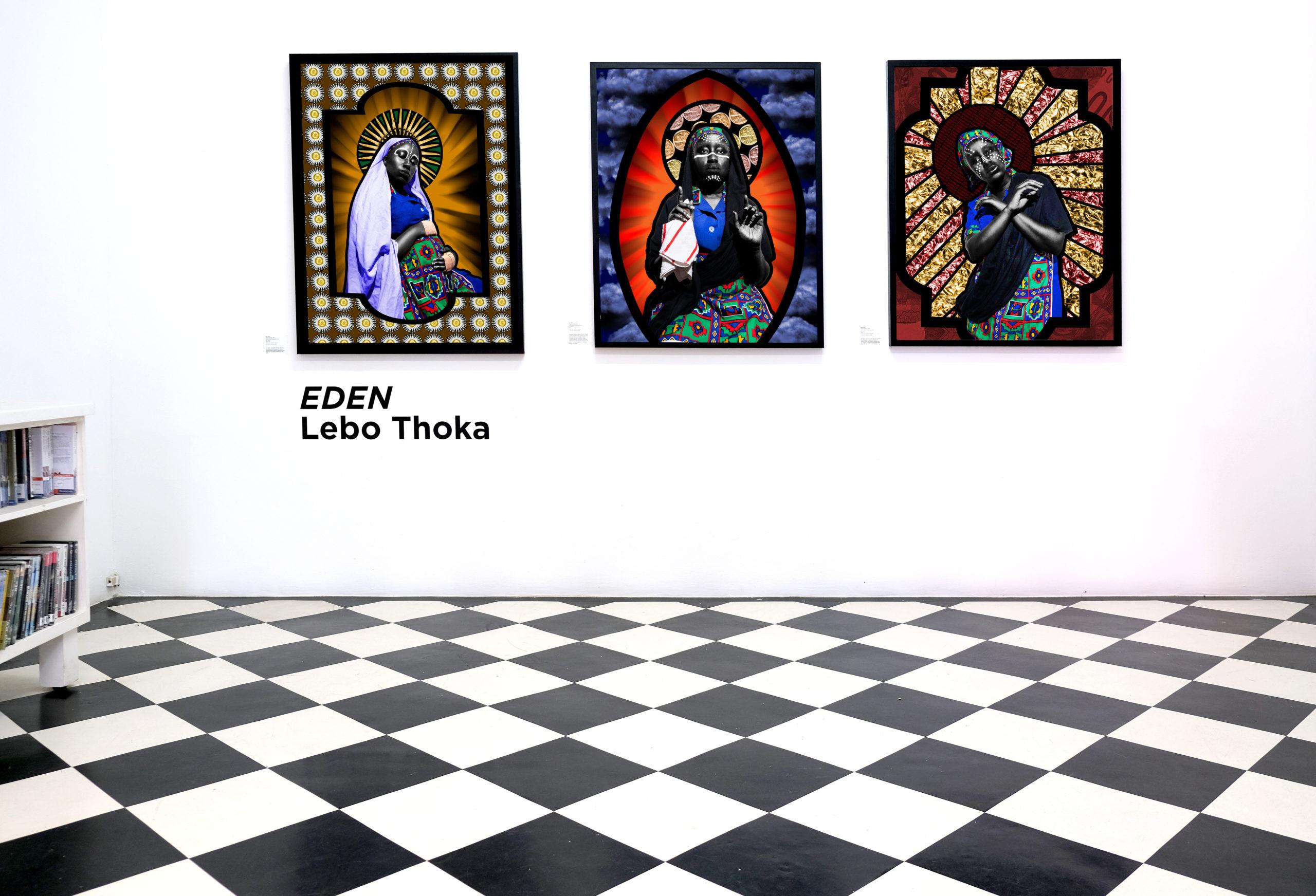 EDEN by Lebo Thoka on show at David Krut Projects Johannesburg