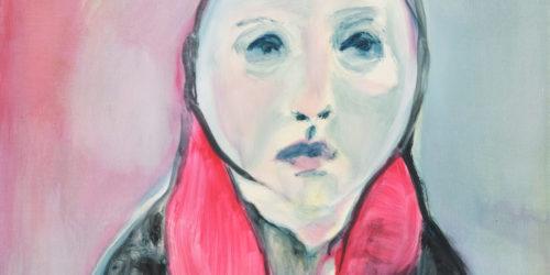 Olivia Botha, I Won't Speak To You, If You Won't Speak To Me, 2021, Oil on canvas