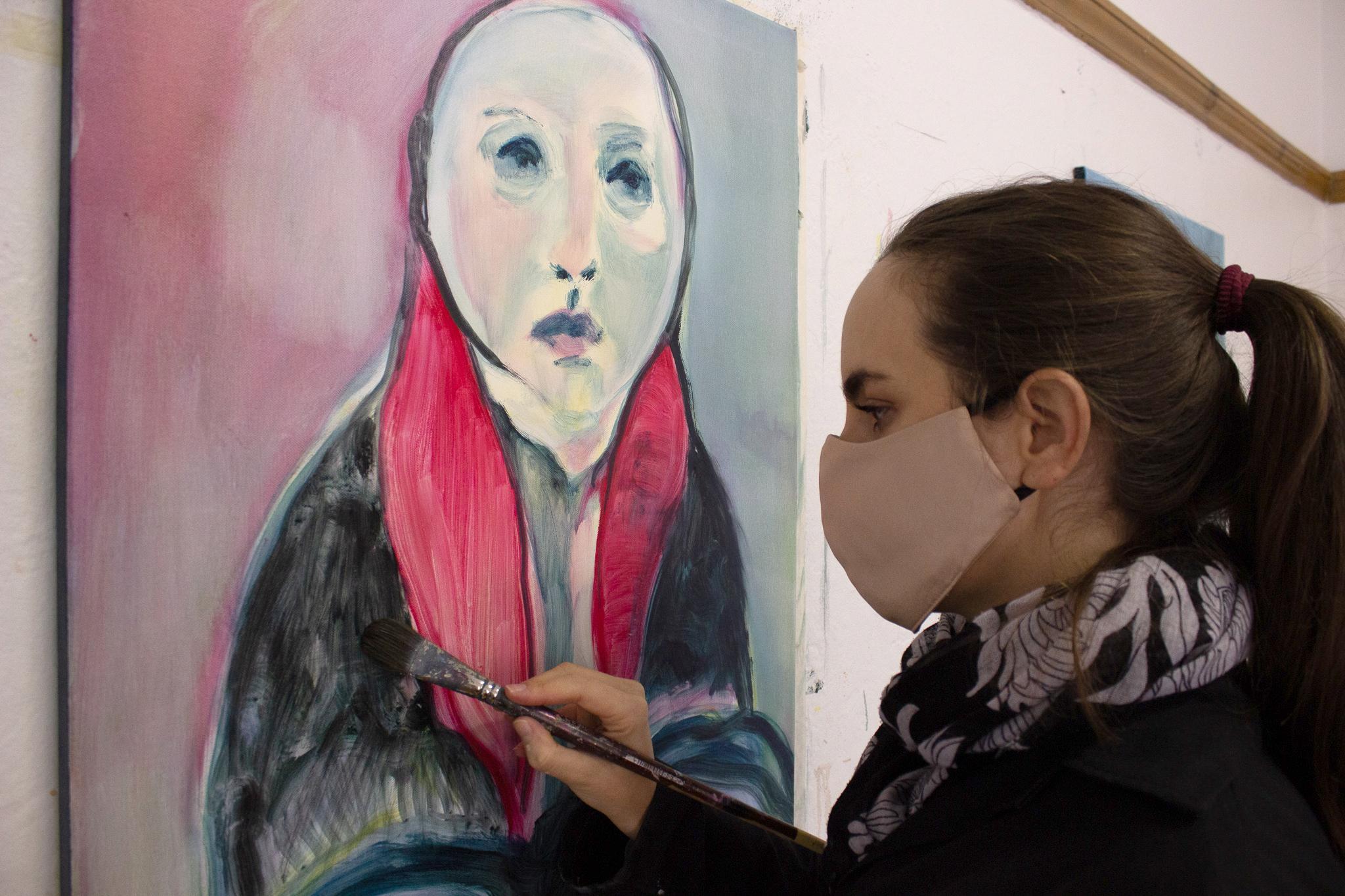 David Krut Podcast Olivia Botha Art