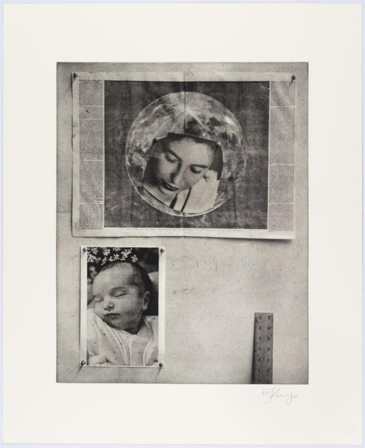 William Kentridge, Studio Life: Felicia Ida Felicia (2020), Edition of 18, Photogravure  David Krut Projects
