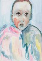Olivia Botha, I Carried Your Secret On My Sleeve, 2021, Oil on canvas